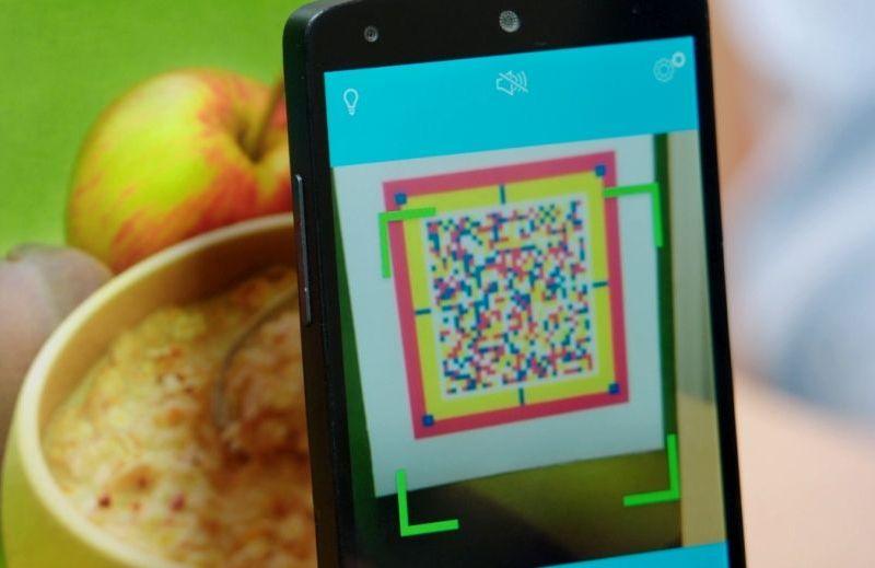 Scan eines sprechenden Etiketts mit der speechcode app